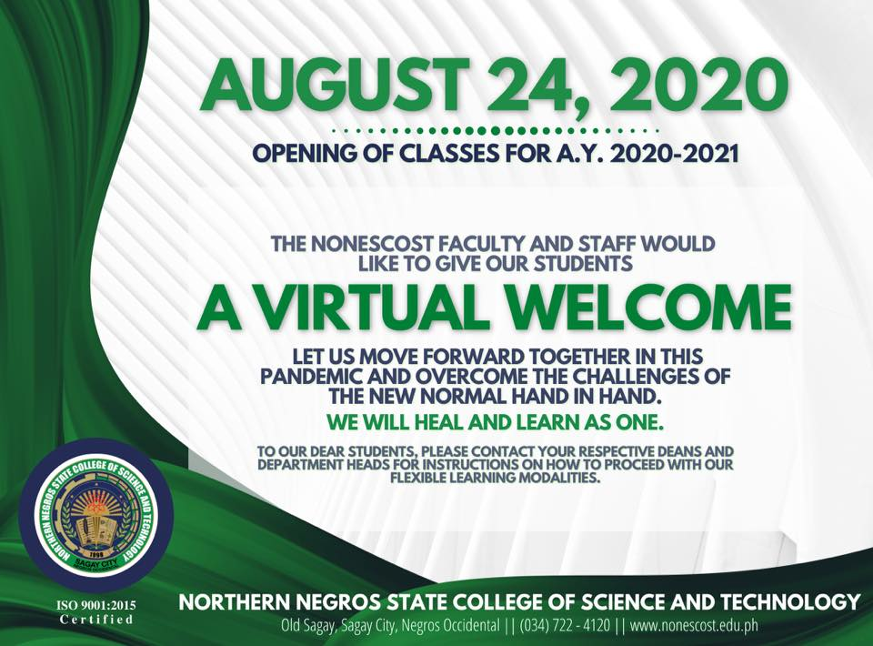 Welcome AY 2020-2021